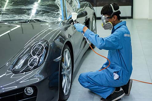 car scratch removal and paint spraying cars service in Kent